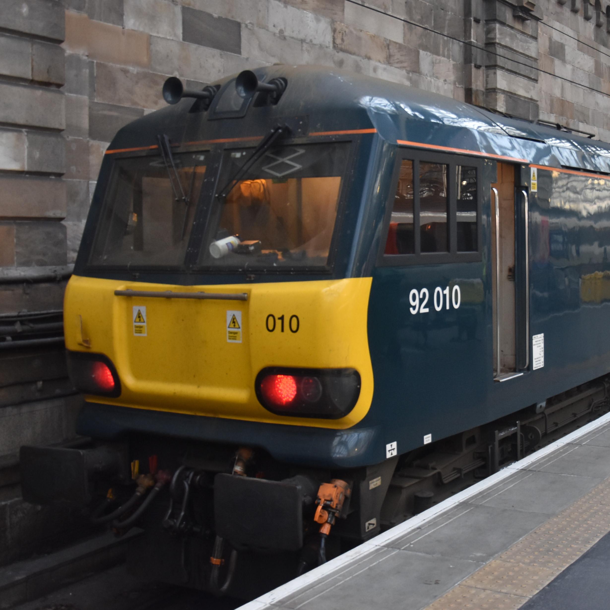Brian's Travel Spot: Caledonian Sleeper to Glasgow
