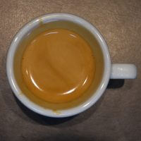 My espresso from Melbourne in Lichfield, Bolt Court: Genesis, a single-origin Costa Rican, roasted by Union.