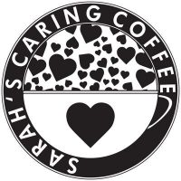 The Sarah's Caring Coffee logo.