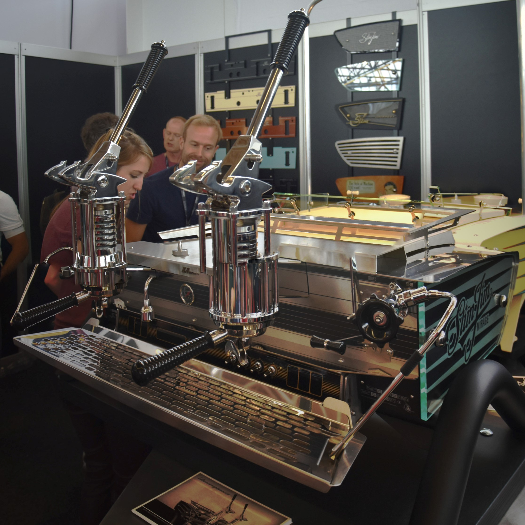 The new lever espresso machine from Kees van der Westen.