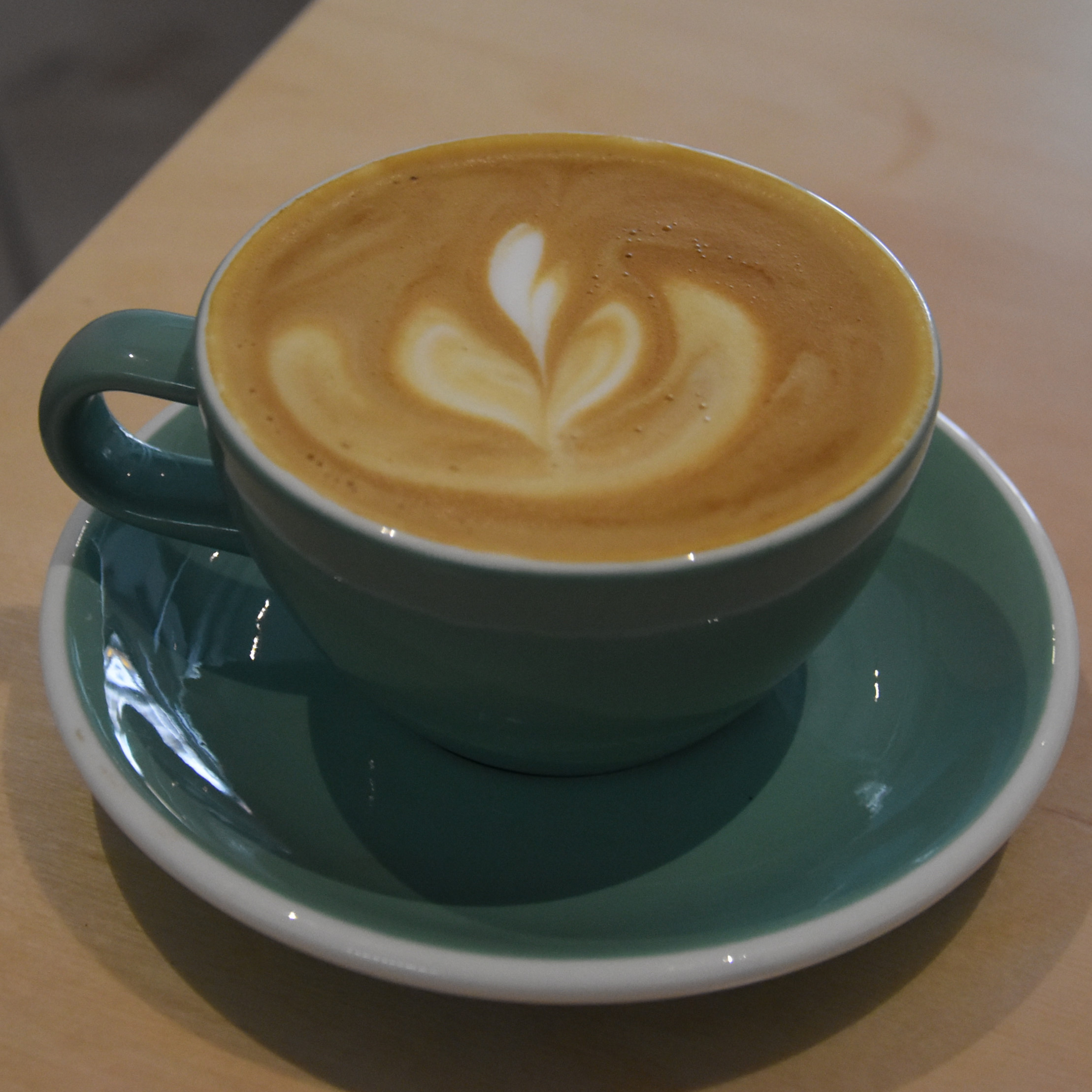 My 6oz with milk at Mother Espresso in Liverpool.