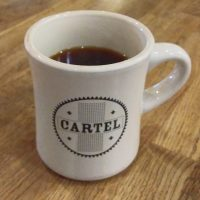 A mug of a Colombian single-origin, served through the Aeropress at Cartel Coffee Lab in Scottsdale.