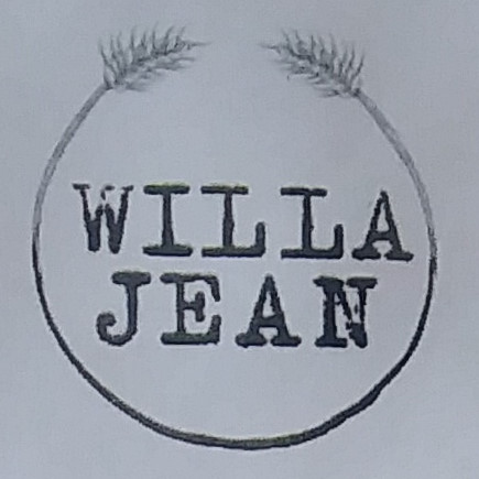 The Willa Jean logo, taken from the coffee menu.