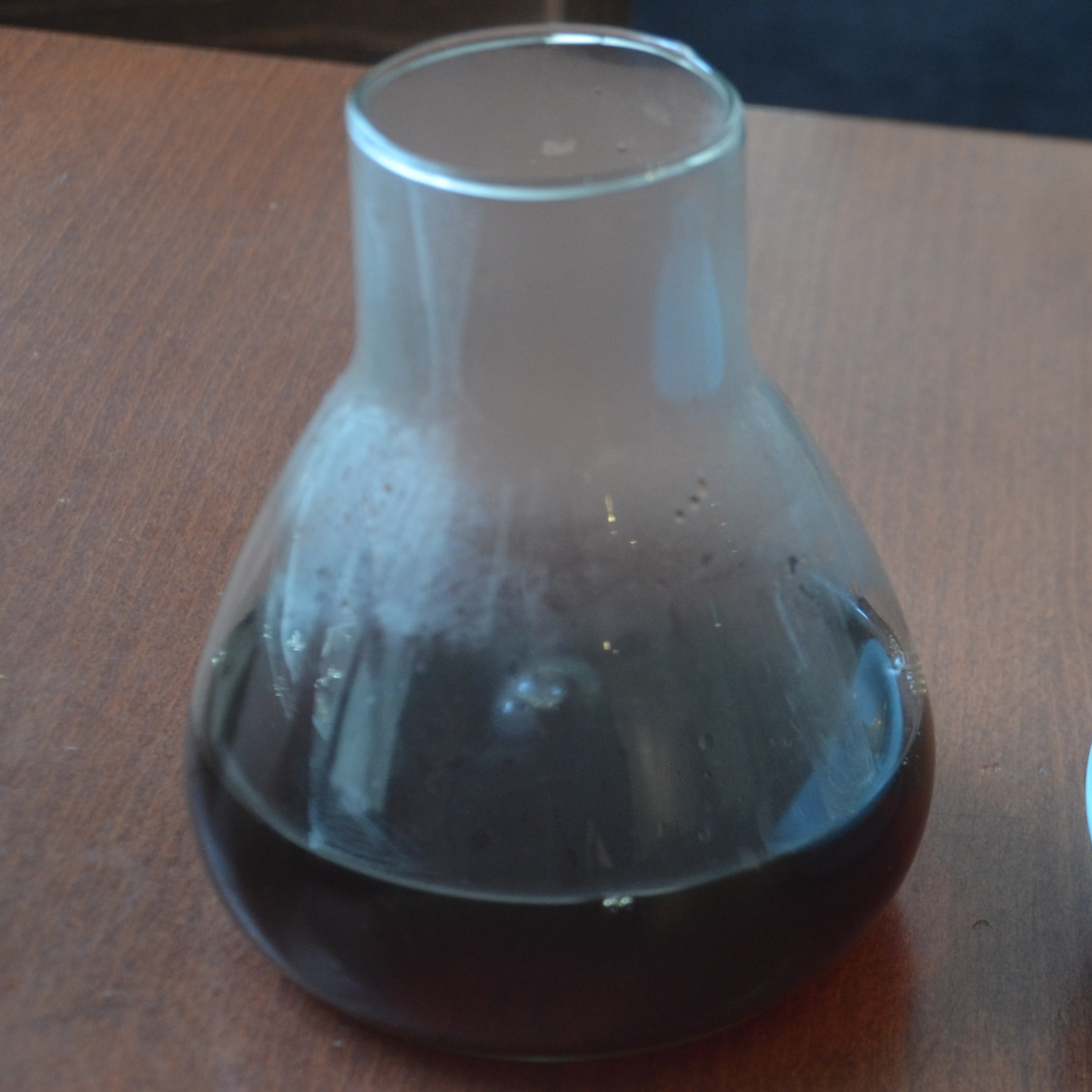 A carafe of the natural Ethiopian batch brew from Stone Valley Roaster, served at Dukes Coffee Company in Cork.