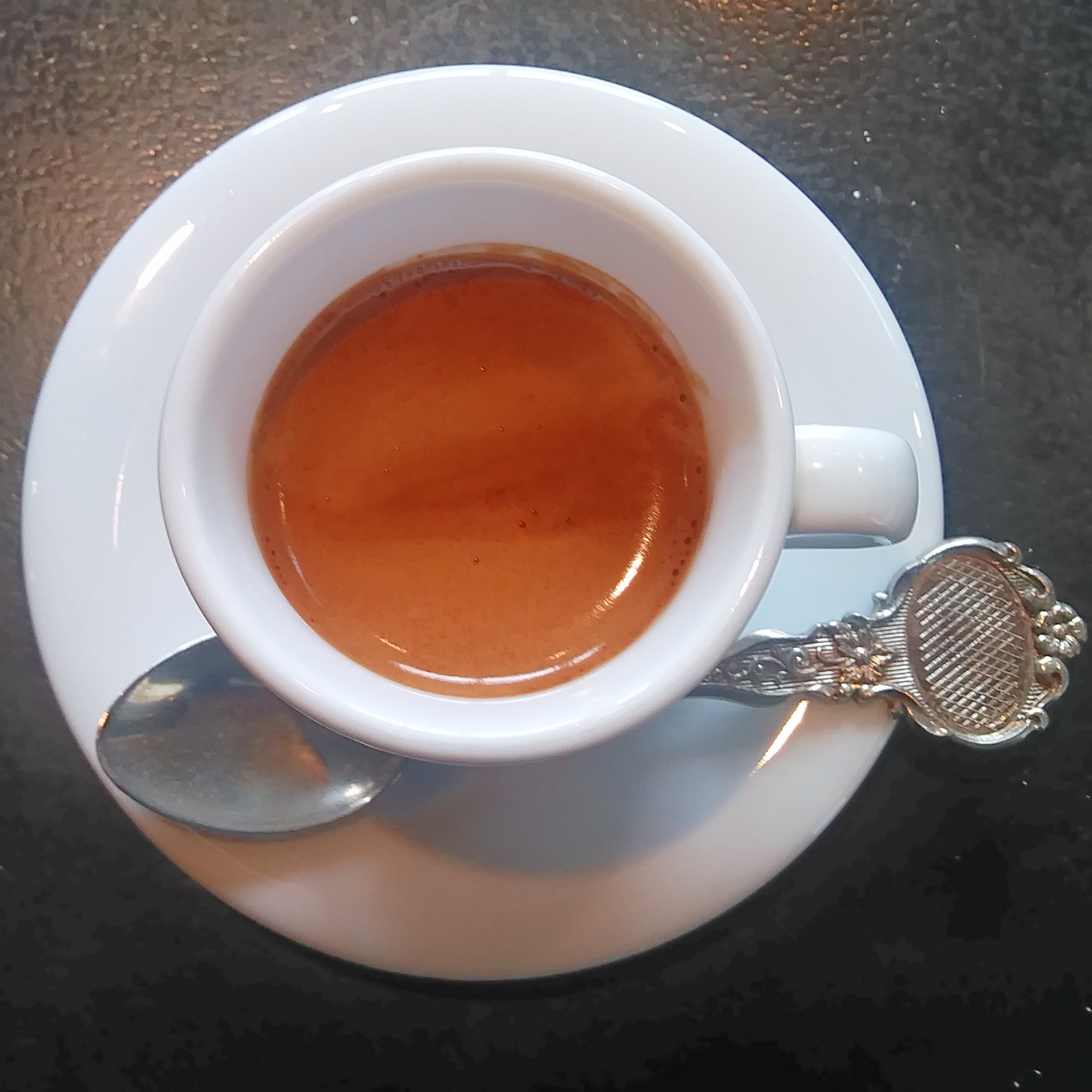 A lovely espresso, served in a proper cup, which I had on the first day that Stockholm Roast in Tokyo re-opened as a standalone operation.