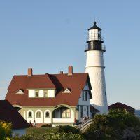 Portland Head Lighthouse in South Portland, Maine