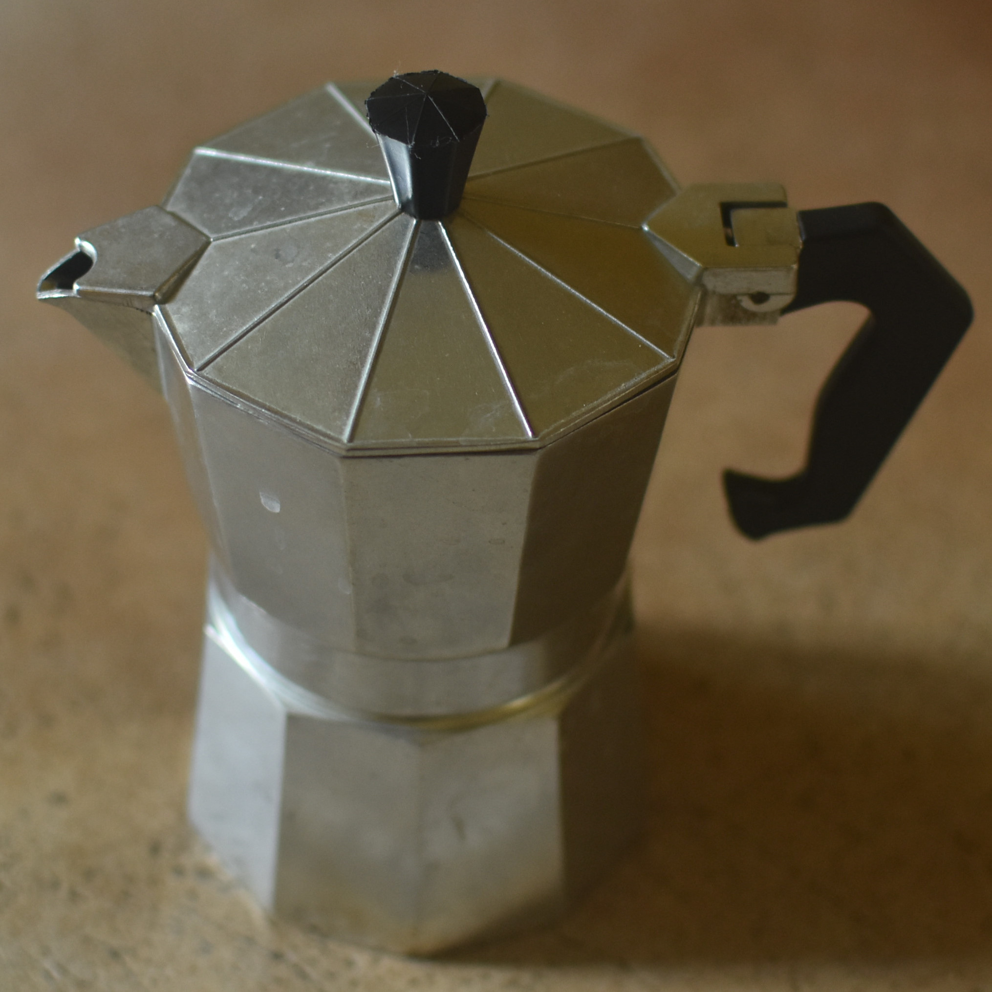 My moka pot, a fairly cheap one that I've had for many a year.