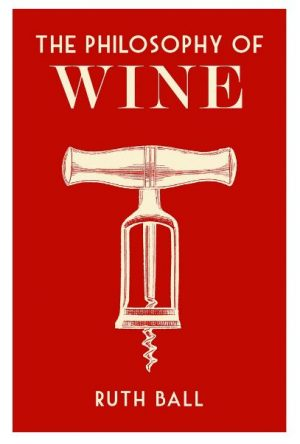 The cover of The Philosophy of Wine, published by the British Library.