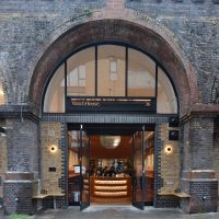 The WatchHouse Roastery & Cafe, in a railway arch just outside London Bridge station.