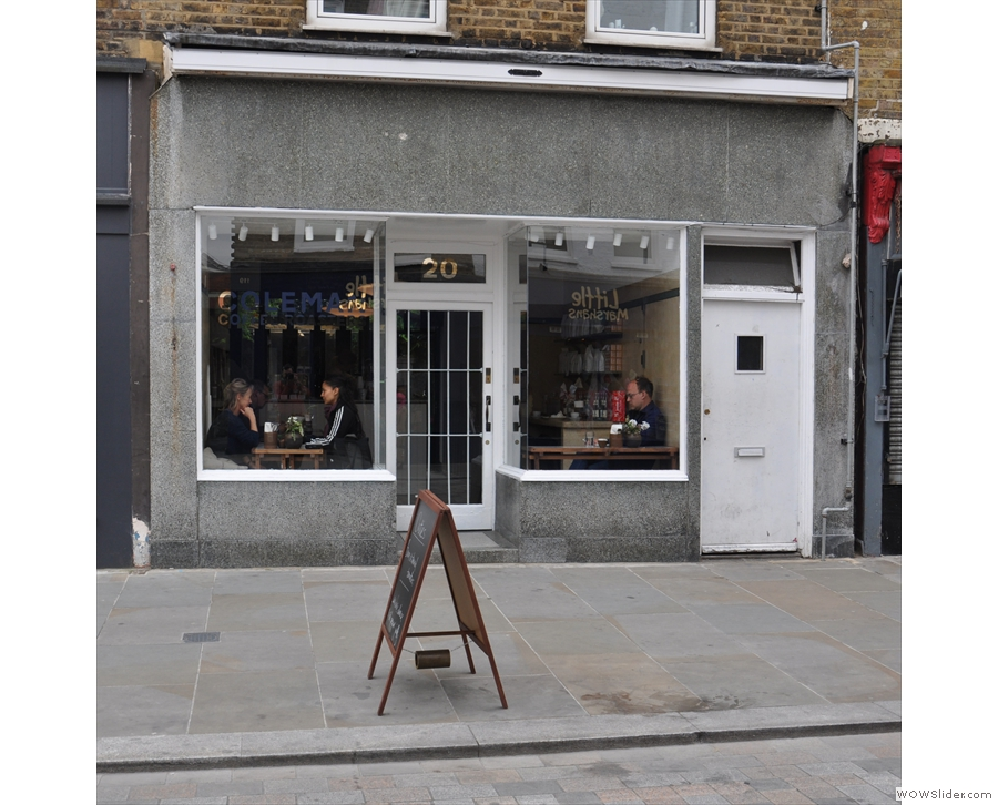 Coleman Coffee Roasters, a new addition behind Waterloo on London's Lower Marsh.