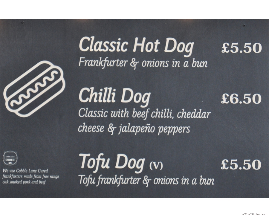 ... and if you're feeling hungry, Look Mum No Hands! is serving hot dogs this year.