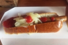 I popped back a couple of weeks later to try the Tofu Dog... Very tasty it was too!