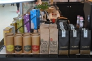 There's coffee from Allpress, hot chocolate from Mork in Melbourne & Prana Chai from India.