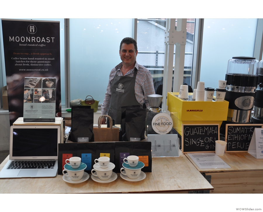 Caffe Culture offered small roasters a chance to get noticed. Here's Moonroast...