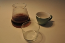 I followed this up with a V60 of the Kenyan, served, as it should be, in a carafe.
