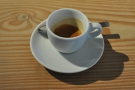 ... and my espresso on its own.
