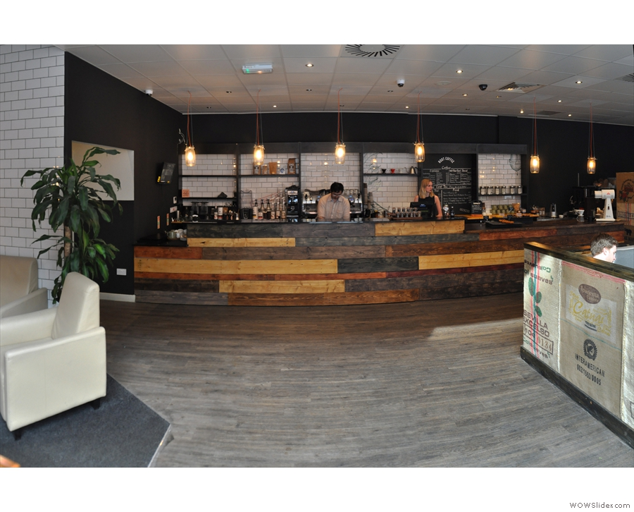 I like the layout at Root, by the way. Clear path from door to counter!