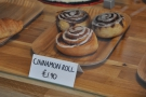 The cinnamon rolls looked particularly tempting...
