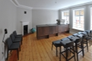Finally, the second floor holds this training room. For now, it's internal use only, but...