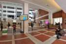Tucked away in the soaring entrance lobby of the British Library on Euston Road is...