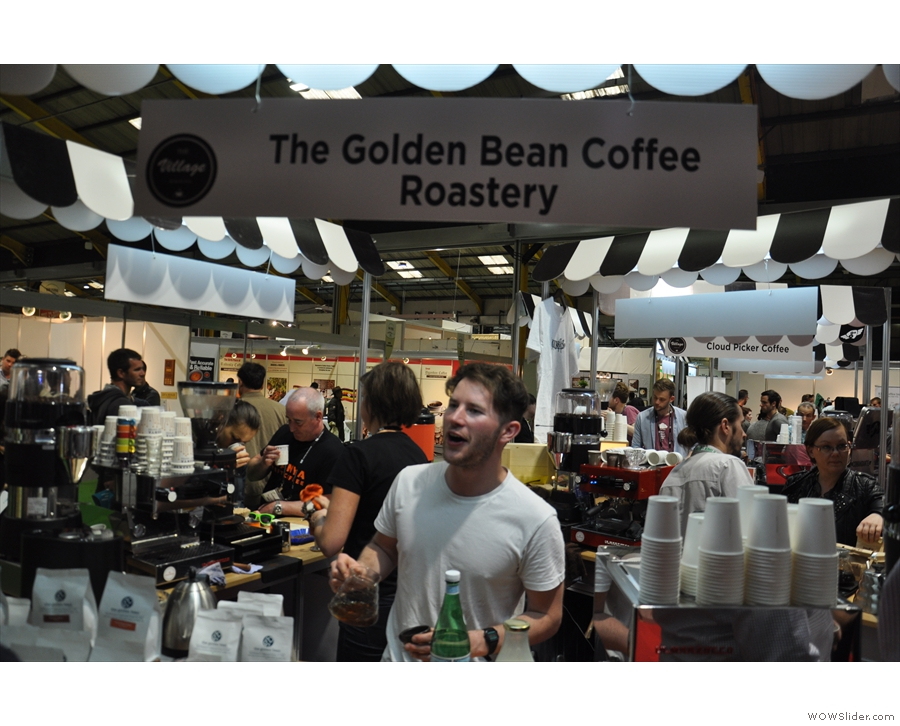 I spent most of my time in The Village with the Irish roasters, such as The Golden Bean...