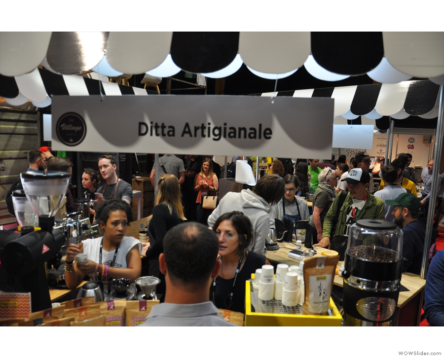 I also met Florence's Ditta Artigianale, one of the few speciality roasters in Italy.