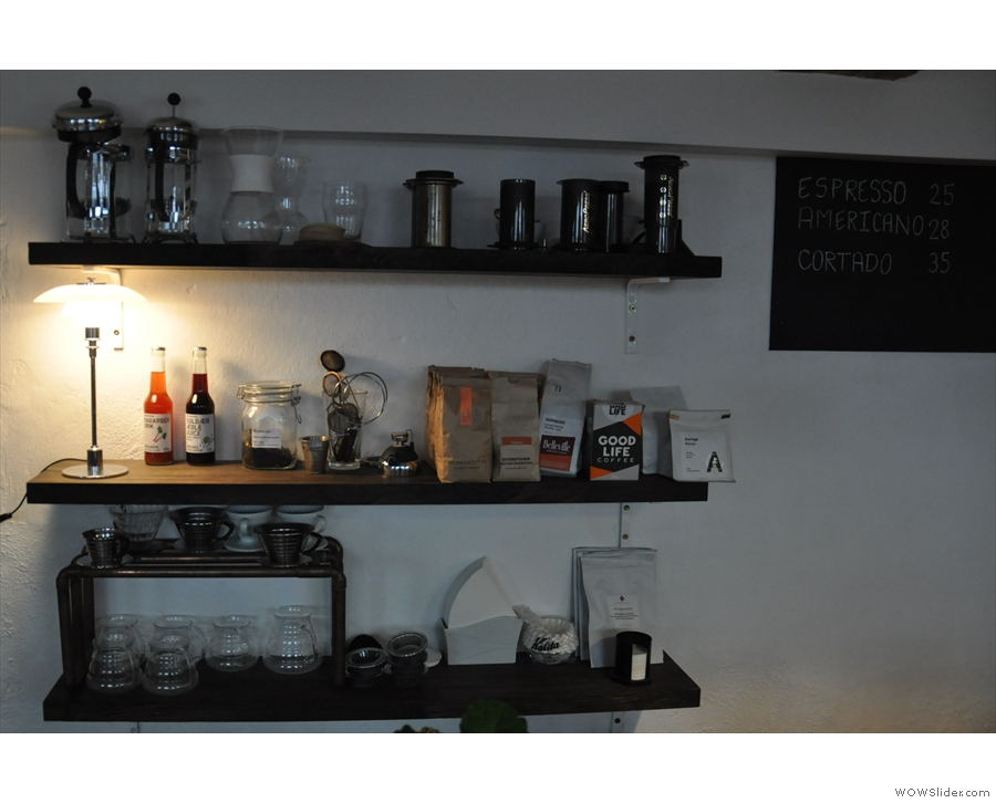 If you don't want espresso, Copenhagen Coffee Lab does a good line in filter coffee too...