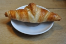 I also put the last croissant out of its misery.