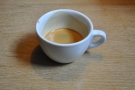... and followed it up with an espresso, using the Ethiopian Nano Challa.