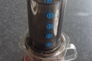 However, not long after starting the Coffee Spot, I became enamoured with the Aeropress...