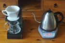 Note I use 94⁰C for my pour-over. You can store different preset temperatures on the kettle.