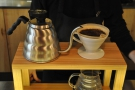 This was a classic V60 technique: lots of short, controlled pours.