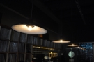 Bop has basement-like qualities and there's not a lot of natural light. These lights help...