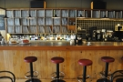 The rest of the massive bar/counter. If I'd been on my own, I'd have sat up there.