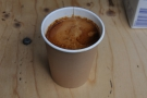 And here it is in the cup, ready to go.