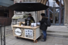 The Rag & Bone stall/cart, as seen from the right...