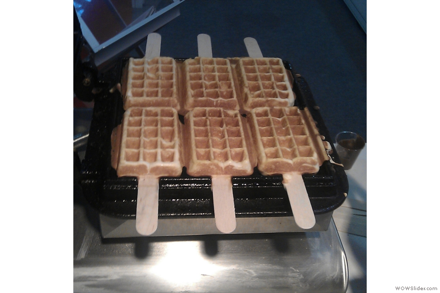 That wasn't the best bit though... it was the waffle on a stick!