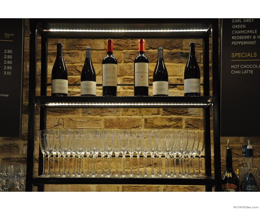 Artigiano, particularly in the evenings, is as much wine bar as it is coffee bar.