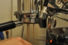 I love watching espresso extract, especially with a bottomless portafilter.