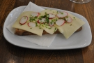 Talking of which I had the Ostemad, an open sandwich (or, as I call it, bread with stuff on).