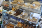 Talking of food, this is the cookie selection, which is to the right of where you order...