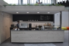 The head on view of the new Store St Espresso.