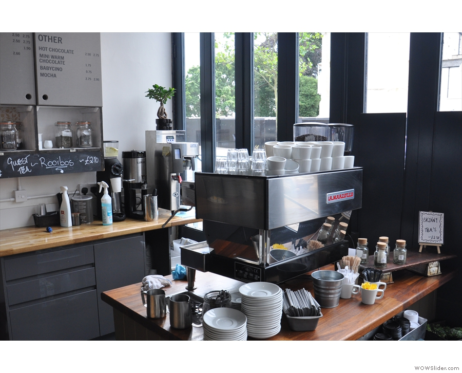 Its output is available as filter coffee. Alternatively, there's always the espresso machine...