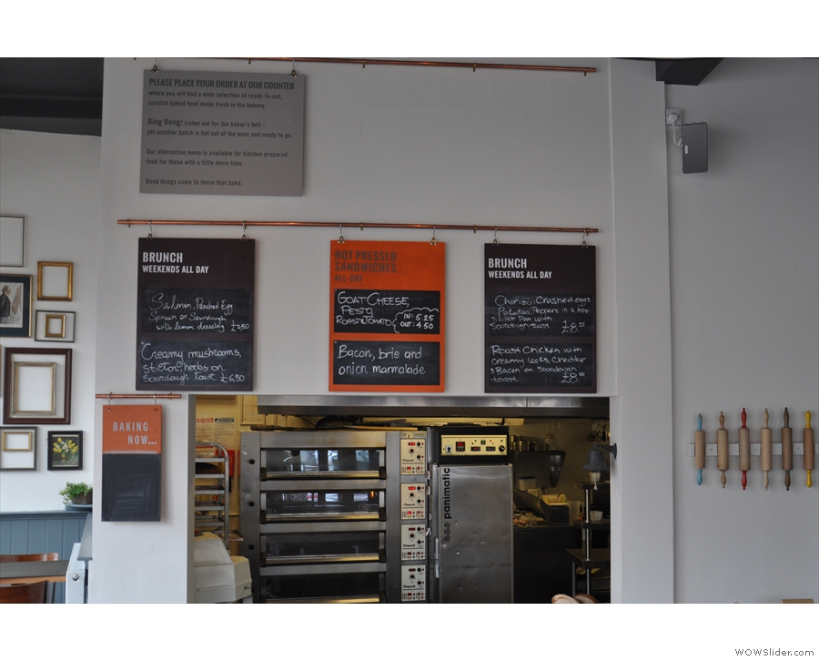 What's this around the hatch? Not more choice? Oh yes, brunch and sandwich specials!
