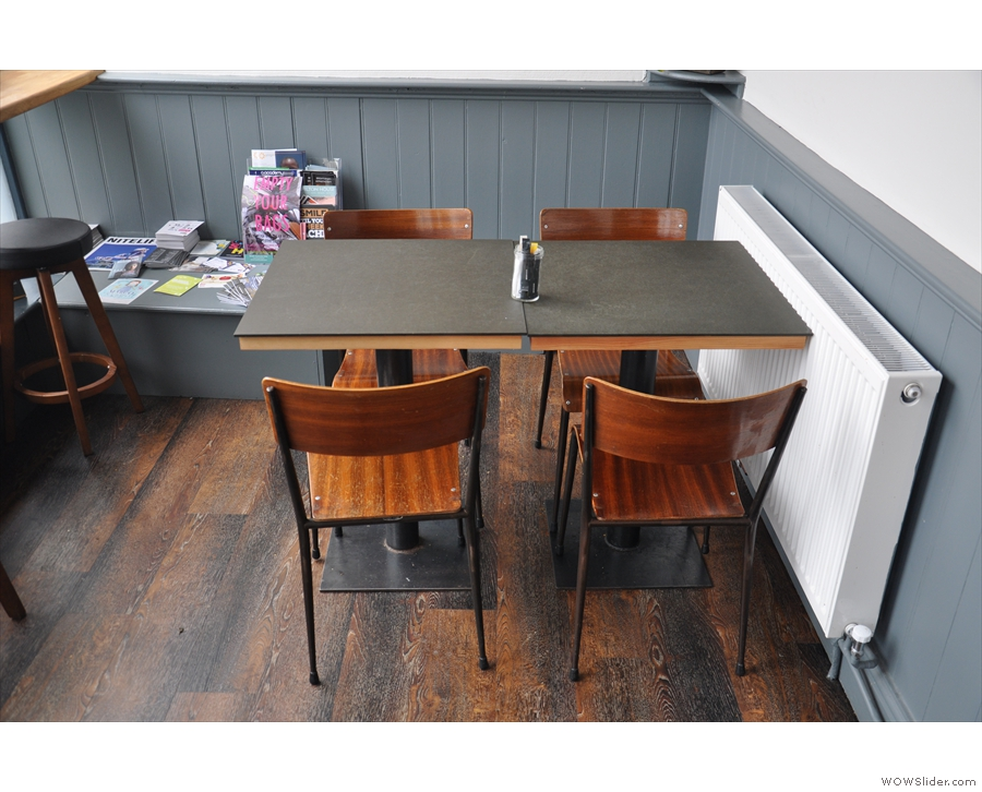 ... where, if you are looking for something a little more tucked away, there's this table.