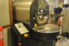 Pride of place goes to this 5 kg Probatone roaster, looking very shiny and new.