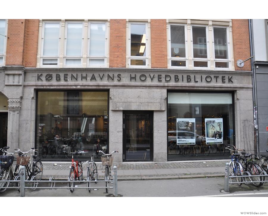 It's Copenhagen's Central Library...