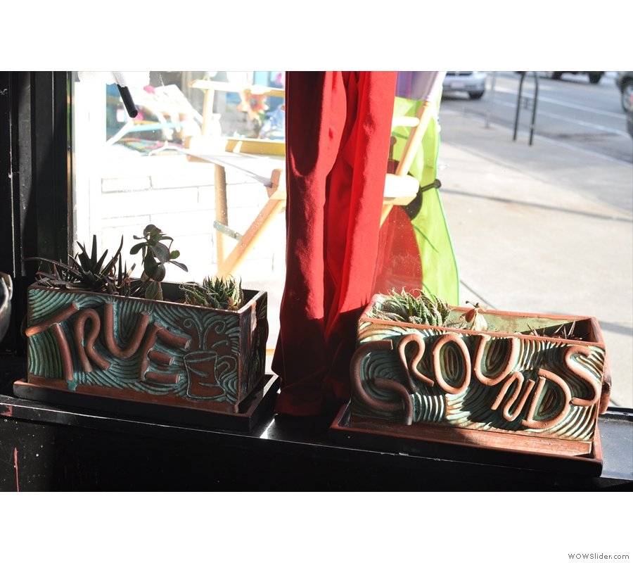 For some reason, I was really taken by this pair of window boxes. In many ways, they summed up the place for me.