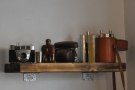 More bits and peices adorn shelves around Dr Espresso.
