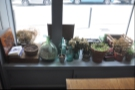 ... and a delightfully eclectic window sill.